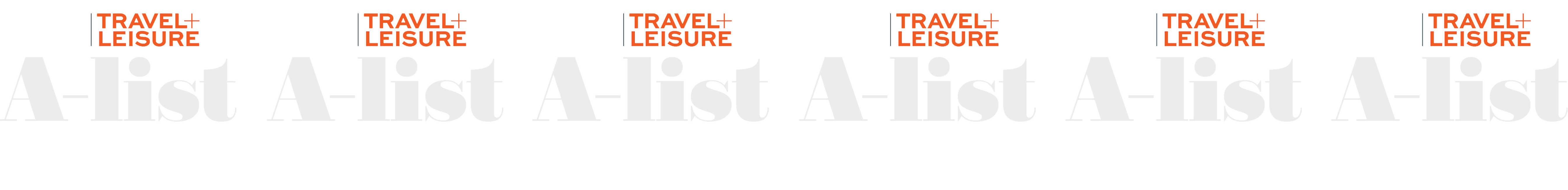 Travel + Leisure A-List Logos
